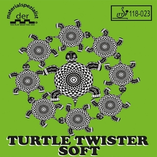 Der Materialspezialist TURTLE TWISTER SOFT potah