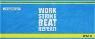 Andro WORK, STRIKE,BEAT,REPEAT ručník