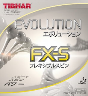 Tibhar Evolution FX-S potah